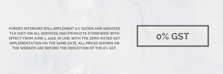 0% GST